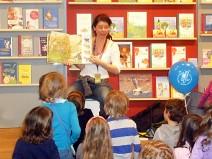 Tinka Kleffner liest auf der Bücherschau Junior