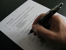 Fragebogen ausfüllen