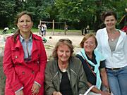 Die Giesinger Lesefüchse im Kronepark