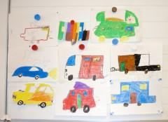 Autos der Tschitti-Gruppe, Klasse 3, St.Martin-Schule