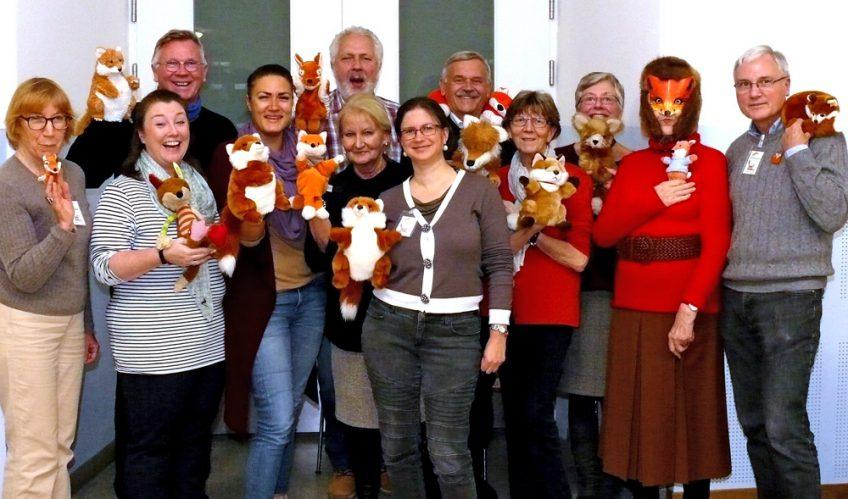 Fuchsversammlung mit Vorlesern